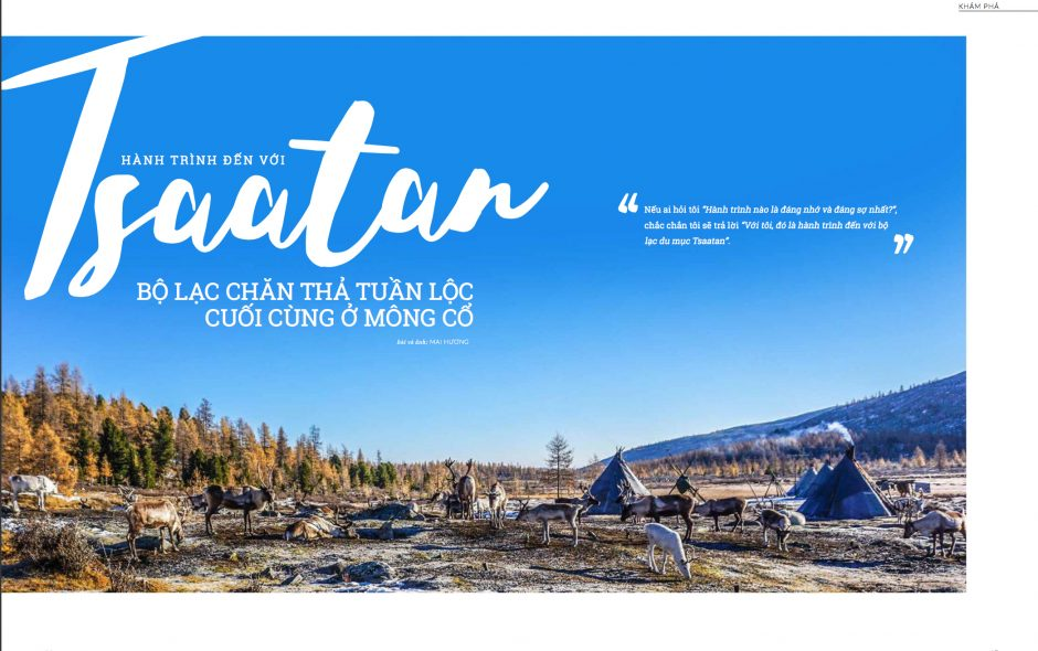 Tsaatan community: The last reindeer herders in Mongolia (english version)