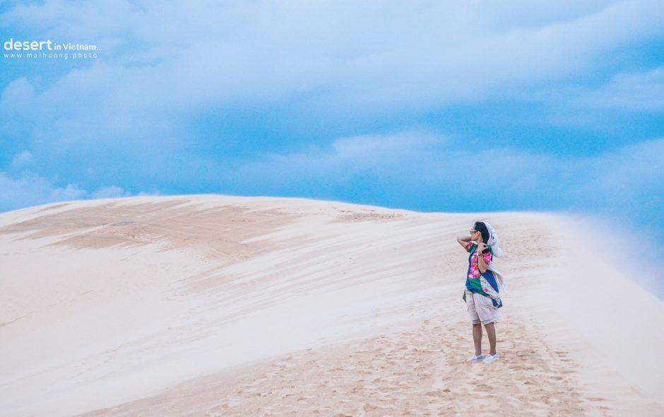 Khám phá sa mạc cát lớn nhất Việt Nam