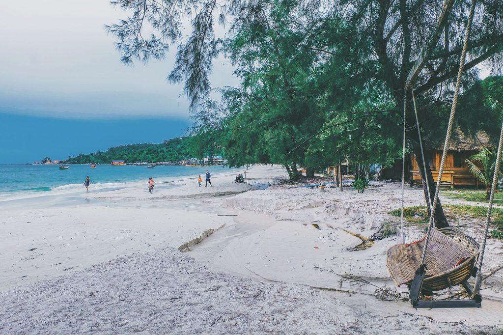 Một góc trên đảo Koh Rong