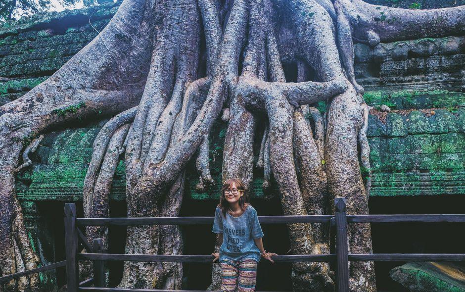 Ta Prohm – ngôi đền có những rễ cây kỳ dị ở Campuchia