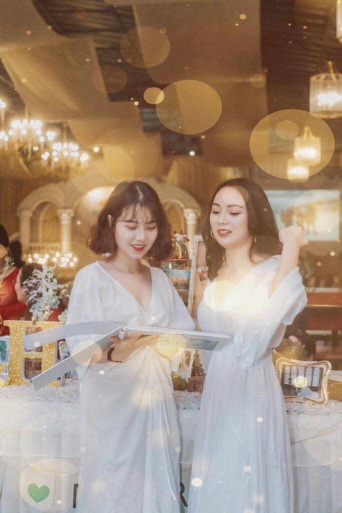 2 cô em gái xinh xắn, đáng yêu của tui