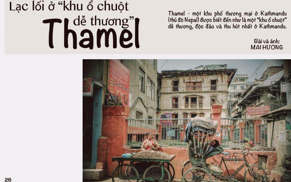"""Lạc lối ở """"khu ổ chuột dễ thương"""" Thamel"""
