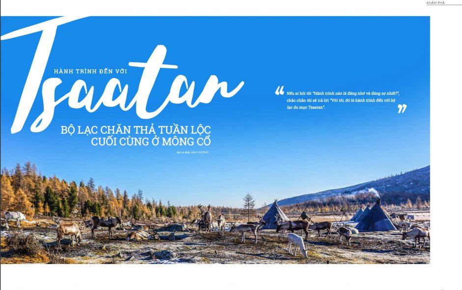Tsaatan community: The last reindeer herders in Mongolia (english version)