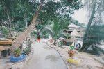 một con đường siêu dễ thương ở Koh Rong Samloem